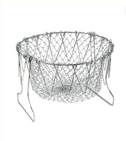 Used Foldable drying or frying basket in Dubai, UAE