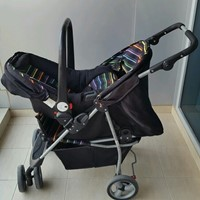 Used Mothercare Baby Stroller With Carseat  in Dubai, UAE