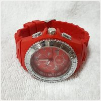 TECHNO MARINE watch red color.
