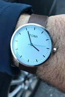 Used TOMI - leather Watch for Men 》Original in Dubai, UAE