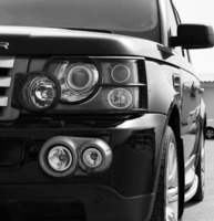 Used Range Rover Sport Supergarge 2006 black color in Dubai, UAE