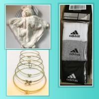 Used Bundle offer bear + 3 sock + 6 bracelet in Dubai, UAE