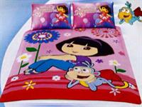 Used Dhs 100 free home delivery   KINDS CARTOON CHARACTER SET SINGLE SIZE   1 QUILT 160 X 200 CM  1 BED SHEET plain / dyed  1 PILLOW COASE   in Dubai, UAE