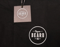 Used Organic Beard Tshirt Black in Dubai, UAE