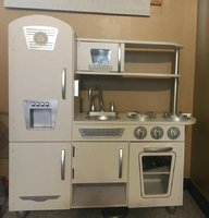 Used Kitchen set for kids wooden in Dubai, UAE