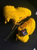 Used New fila yellow shoes unisex 36-45 size in Dubai, UAE
