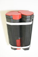 Used Retractable table tennis net, red in Dubai, UAE