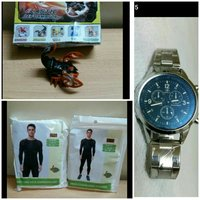 Used Bundle3pc(Mens dry fit,watch,deformater) in Dubai, UAE