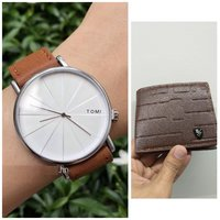 Used Original TOMI Watch▪+FREE Leather Wallet in Dubai, UAE