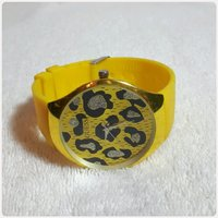 Guess watch yellow color