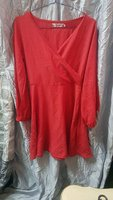 Used Red party gown in Dubai, UAE