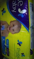 Used Fine diapers medium size 54pcs in Dubai, UAE