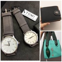 Used TOMI Couple Watches▪+Wallet▪+Ladies BAG in Dubai, UAE