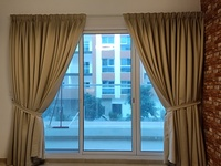 Used Luxurious Heavy Dim Out Curtains in Dubai, UAE