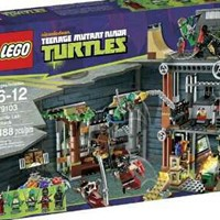 Used LEGO TMNT Turtle Lair Attack 79103 in Dubai, UAE