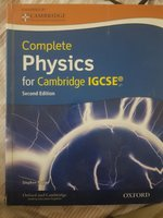 Used Cambridge physics igcse second edition in Dubai, UAE