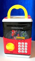 Spider Man Money Safe Box For Kids
