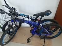 Used Foldable Bikes 2 pcs aed650 only in Dubai, UAE