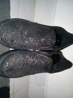 Used Black glitter girl shoes size 38 in Dubai, UAE