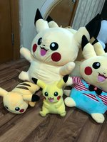Used Pokemon pikachu huge soft toys in Dubai, UAE