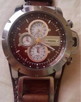 Fossil Leather Authentic Watch for Men