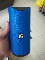 Used Loud Portable Bluetooth speaker blue in Dubai, UAE