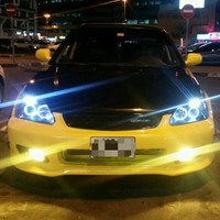 Used URGENT Honda Civic Modified .MANUAL Transmission /Whatsapp Only : 0509960110  in Dubai, UAE
