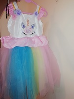 Used Party dress for girls (1pc) in Dubai, UAE