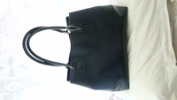 Used Navy tote bag semi formal big almost new in Dubai, UAE
