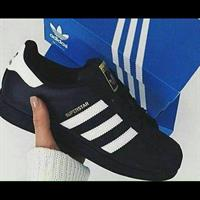 Adidas Superstar Black. Top Quality Shoes. Made In Vietnam. With Comfort That Of Original.