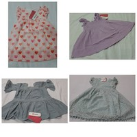 Used Baby girl dresses 4in 1 ! Grab it now in Dubai, UAE