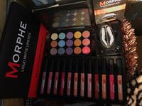 #Morphe One Set 12 Pieces Lipgloss Matte Color And 1 Eyeshadow As The Pictures Showing Themselves, Plus One More Eyebrow Stamp #Morphe Color Brown! All Together In 1 Price ! Only 3 Sets In Stock Right Now ! Most Welcome
