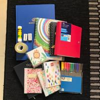 Stationary Bundle For Kids. 13 Items Total.