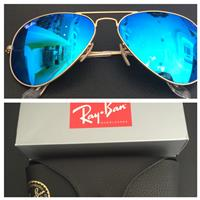 Used rayban aviator good condition authentic in Dubai, UAE