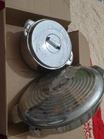 Used 2 nos Hotpot Casserole Silve Big Size in Dubai, UAE