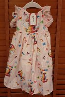 Used Beautiful Light Pink Unicorn Girl Dress in Dubai, UAE