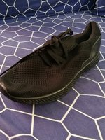 Used New men black shoes size 44 in Dubai, UAE