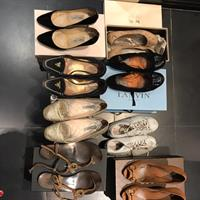 Authentic Shoes  8 Pairs