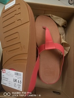 Used New Fitflop Red Orange slipper size40 in Dubai, UAE