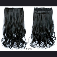 Black hair extension + free gift