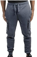 Used Men Active Solid Jogger Pant in Dubai, UAE