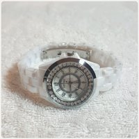 Used White watch brand new TIMECO for her. in Dubai, UAE