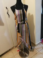 Maxi striipped dress from patpat