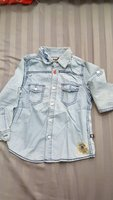 Used Denim shirt for 4  year  boy in Dubai, UAE