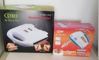 Used Mixer and sandwich maker new Cyber set in Dubai, UAE