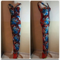 Used Printed long Dress for LADIES in Dubai, UAE