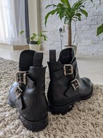 Used Italian leather boots in Dubai, UAE