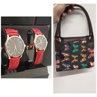 Used Super Offer~ Tomi Couple Watches + BAG in Dubai, UAE