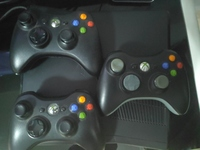 Used Xbox 360 with three controllers, kinect in Dubai, UAE