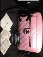Used AUTHENTIC Chanel Cambon Pink Bag ❤ in Dubai, UAE